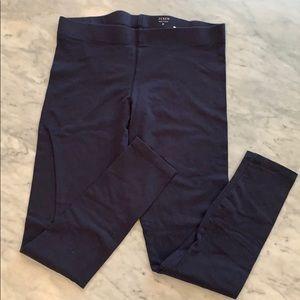 J Crew blue cotton leggings size medium